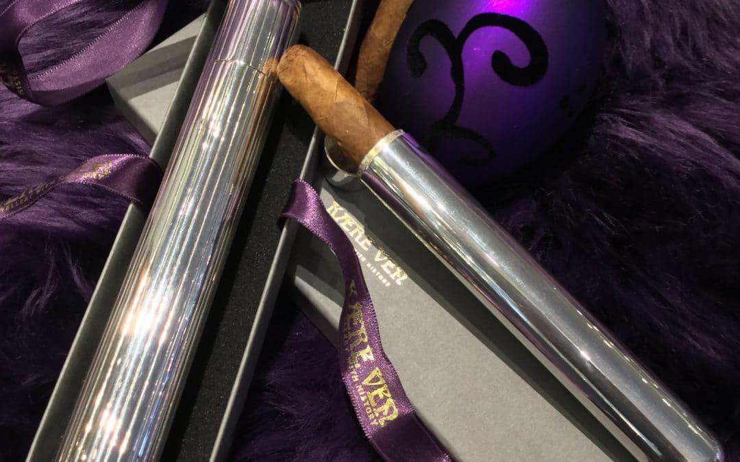 Sølv Cigar Etui
