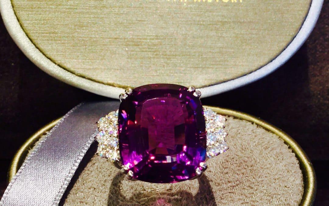 Ametyst Brillant Ring