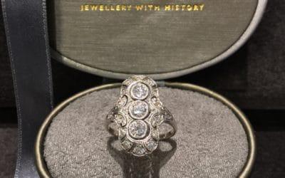 Art Deco Brillant Ring