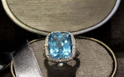 Topas Brillant Ring